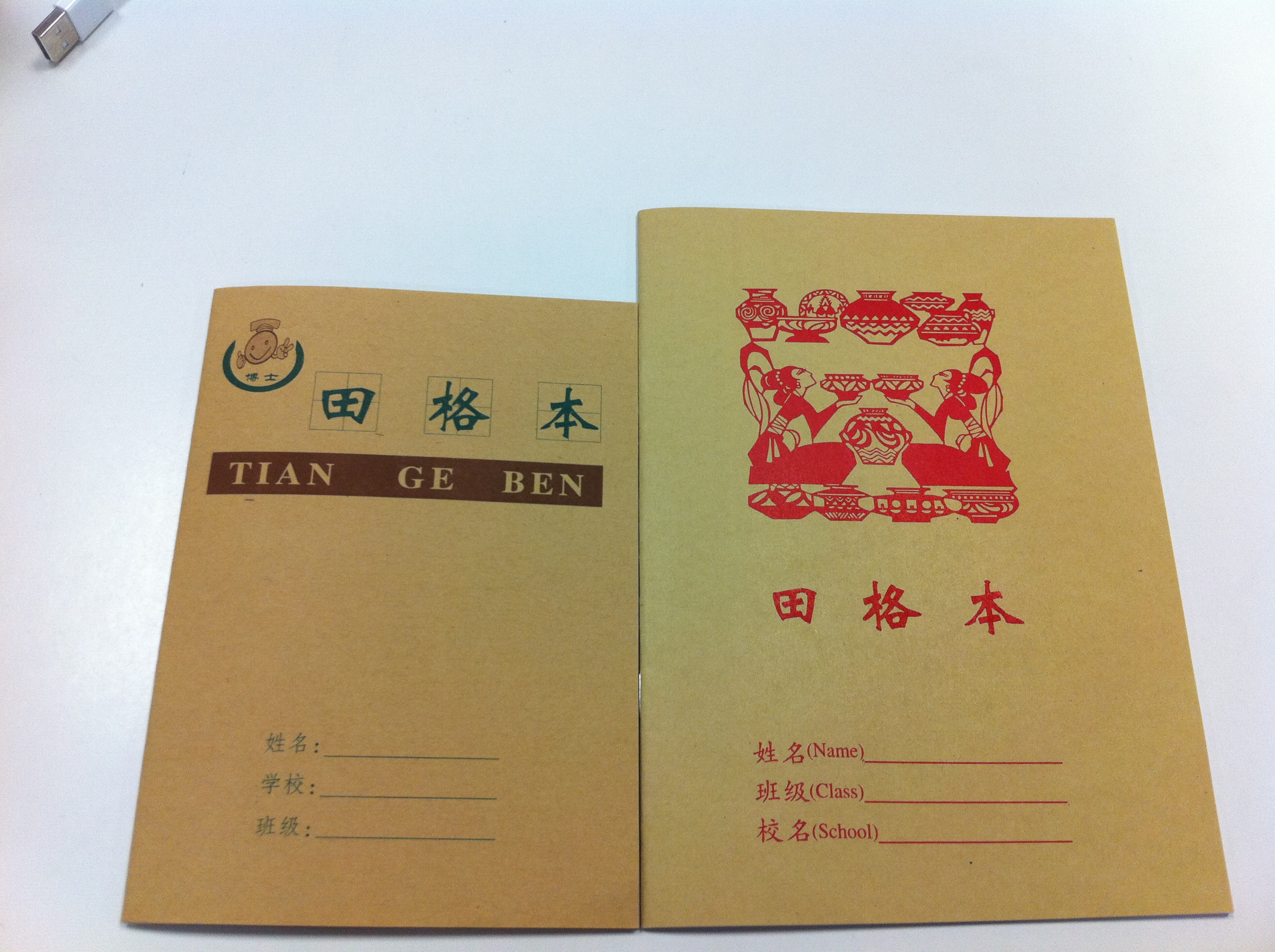 Chinese Character Writing Book 生字本 ( Sheng Zi Ben) (Chinese Character Writing Book (Blank/ Small))