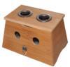 Wooden Moxa Box (Medium: 2 Moxa Stick Holes) (Wooden Moxa Box (Medium: 2 Moxa Stick Holes))
