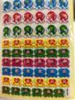 3D Merit Stickers with Point Cards: Exellent & Rew (Merit Stickers: Exellent etc  奖励贴纸:优字及其它 (KKT-023))
