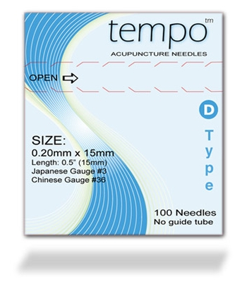 Tempo D Type 0.20 x 15mm: (Tempo D Type 0.20 x 15mm:)