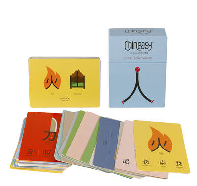 Chineasy: 60 Flashcards (Cover Image)