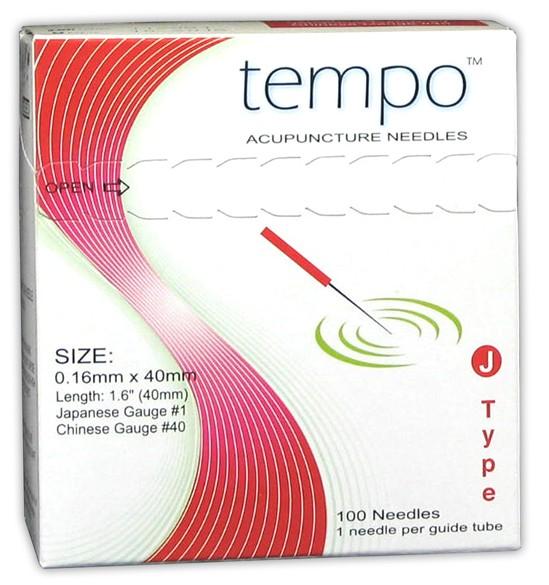Tempo J Type 0.30 x 30mm: (Tempo J Type 0.25 x 50mm:)