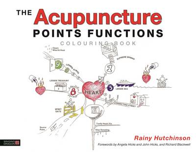 Acupuncture Points Functions Colouring Book (Cover Image)
